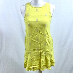 Leifnotes By Anthropologie Sleeveless Dress Sz 0